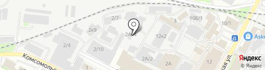 Макстар на карте Бердска