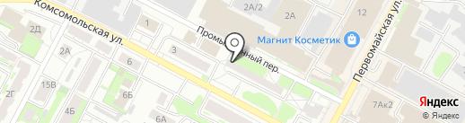 Motul на карте Бердска