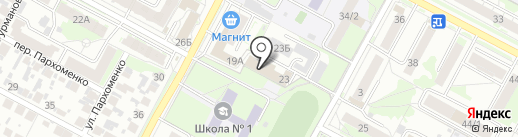 Vстудио на карте Бердска