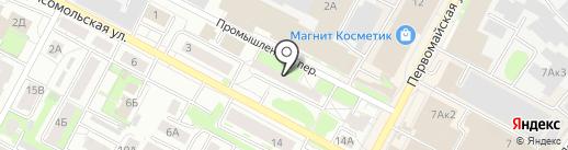 Компания Строительный Двор на карте Бердска