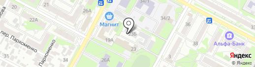Eretiks garage service на карте Бердска