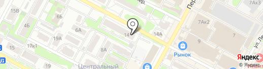 Russia Шар на карте Бердска