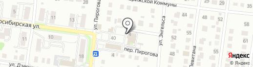 White Studio на карте Бердска