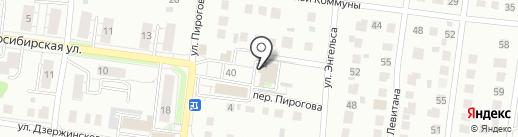 Магазин №26 на карте Бердска