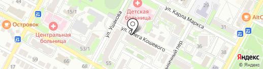 Ваш Русский дом на карте Бердска