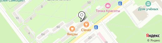 WoW!Пар на карте Новосибирска