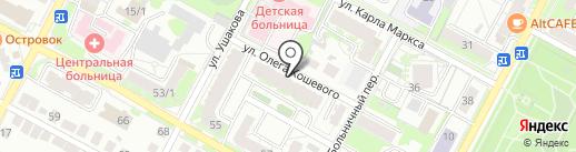 Мастеровые Сибири на карте Бердска