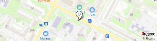 Мастерская по ремонту обуви на карте Бердска