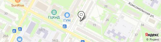 Компания ЮМЭЙ на карте Бердска