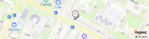 БФК на карте Бердска