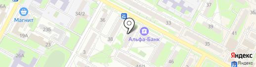 Центр занятости населения г. Бердска на карте Бердска