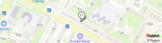 Миледи на карте Бердска