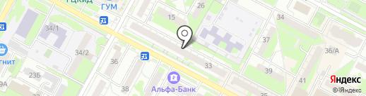 Какаду на карте Бердска