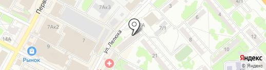 Техноград на карте Бердска