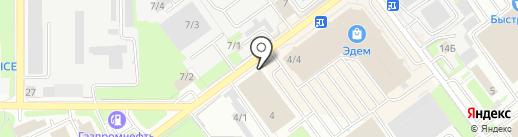 Академ Тендер на карте Новосибирска