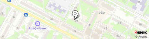 Диалар на карте Бердска