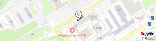 Механика Здоровья на карте Новосибирска