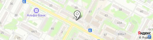Магазин ароматного чая и кофе на карте Бердска