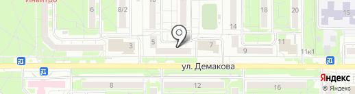 Happy Hands на карте Новосибирска