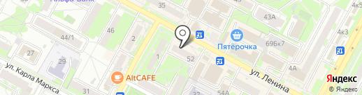 Союз десантников Сибири на карте Бердска