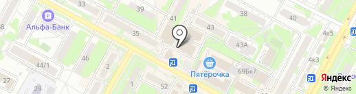 Новоспорт на карте Бердска