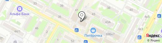 X-Time на карте Бердска