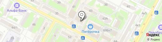 Ателье по ремонту и пошиву одежды на карте Бердска