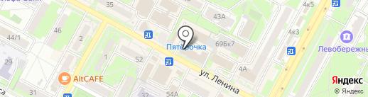 Ростелеком для бизнеса на карте Бердска