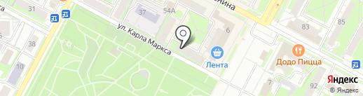 Адвокатский кабинет Шмакова П.Б. на карте Бердска