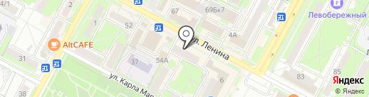 Пивной Двор на карте Бердска