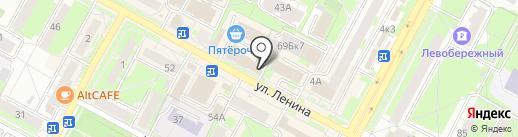 Кредит-Сервис на карте Бердска