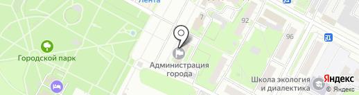 Управление гражданской защиты г. Бердска на карте Бердска