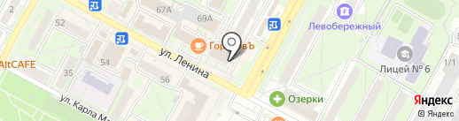 Магазин радиотоваров на карте Бердска
