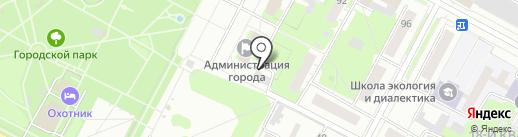 Городская организация ветеранов-пенсионеров войны, труда на карте Бердска