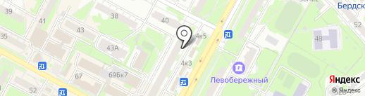 БИНБАНК, ПАО на карте Бердска