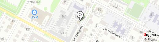 ART-Ель на карте Бердска