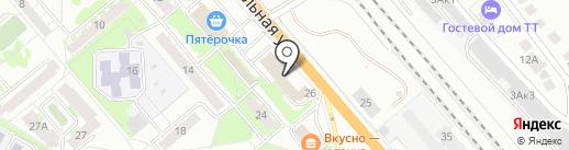 Суши Гейша на карте Бердска