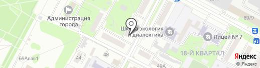 УПРАВЛЯЮЩАЯ КОМПАНИЯ ЖИЛИЩНО-КОММУНАЛЬНОГО ХОЗЯЙСТВА, МУП на карте Бердска