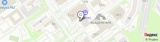 Satellite Connection на карте Новосибирска