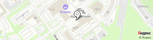 RUNNERS на карте Новосибирска