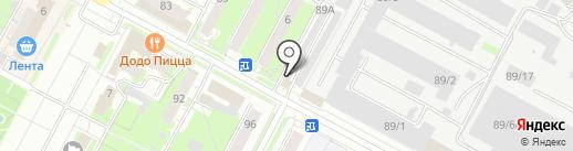 Mix на карте Бердска