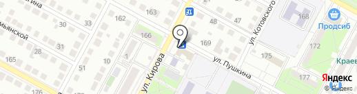 Центр Муниципальных Услуг г. Бердска, МБУ на карте Бердска