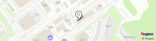 НОВЫЙ ДОМ на карте Новосибирска
