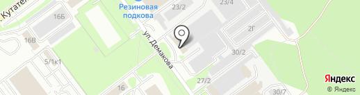 Хеликон на карте Новосибирска