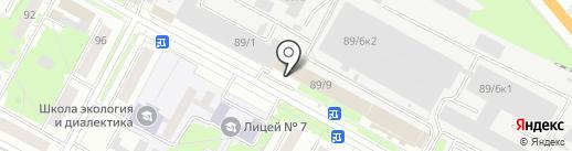 Мобильный Мастер на карте Бердска