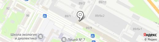 Сервис-Телеком на карте Бердска