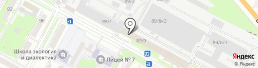 Сибконтроль на карте Бердска