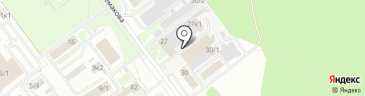 Университет Госзакупок, АНО ДПО на карте Новосибирска