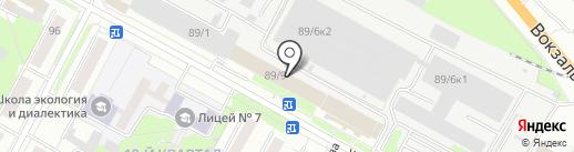 Купенск на карте Бердска