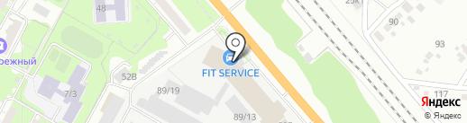 F!T SERVICE на карте Бердска